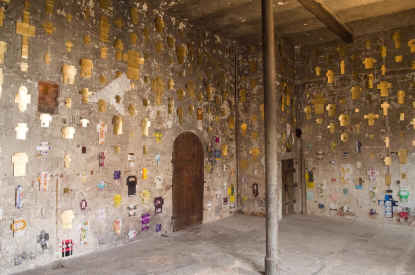 site specific art installation consumerism ortung 11 schwabach